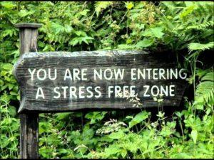 stressvrije zone